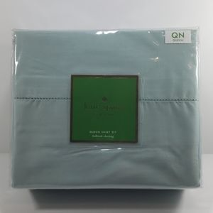 kate spade holbrook sheeting Queen Sheet Set